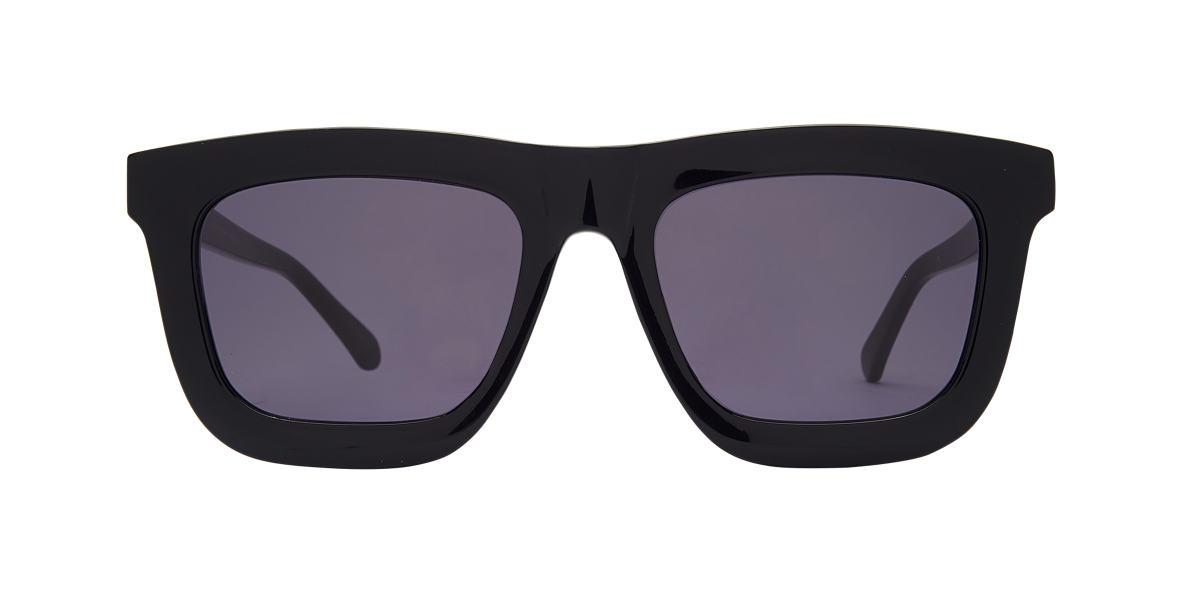 KAREN WALKER Black DEEP WORSHIP Grey lenses 55mm