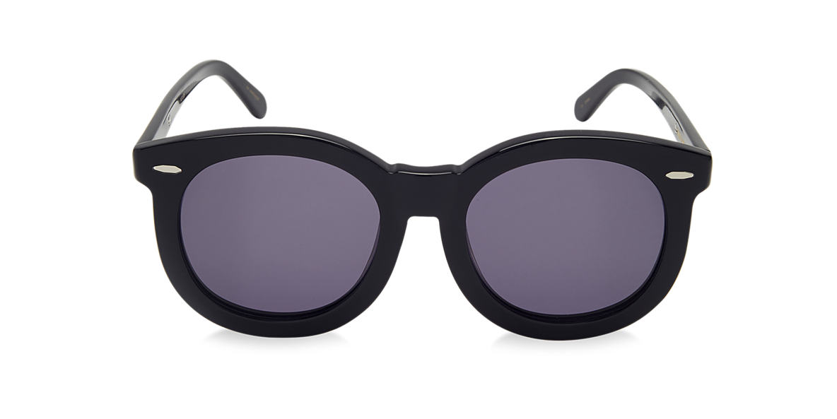 KAREN WALKER Black SUPER WORSHIP Grey lenses 53mm