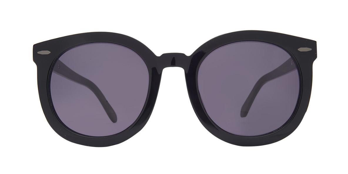 KAREN WALKER Black SUPER DUPER Black lenses 53mm