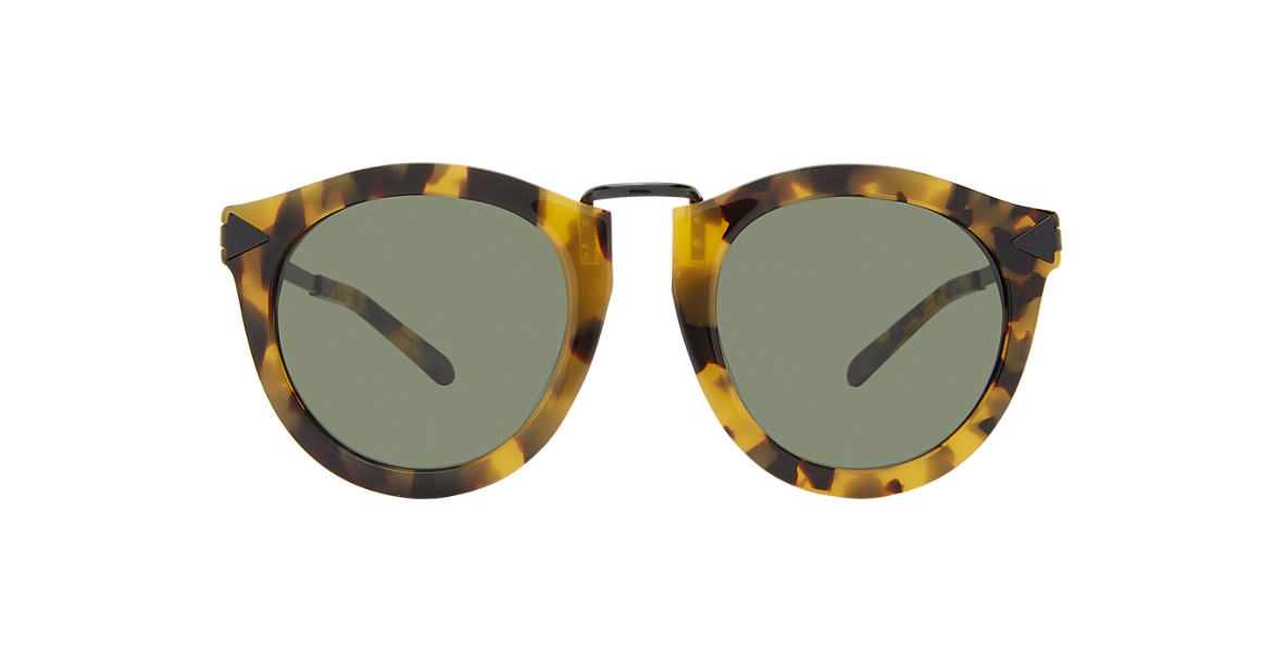 KAREN WALKER Tortoise A HARVEST Grey lenses 50mm