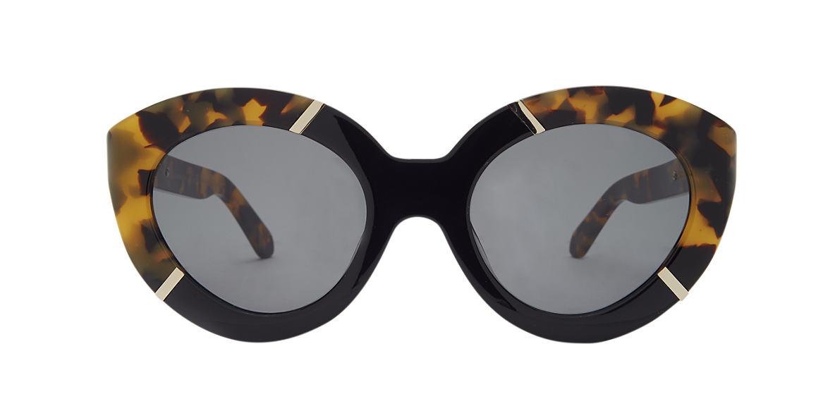 KAREN WALKER Tortoise FLOWERPATCH Green lenses 50mm