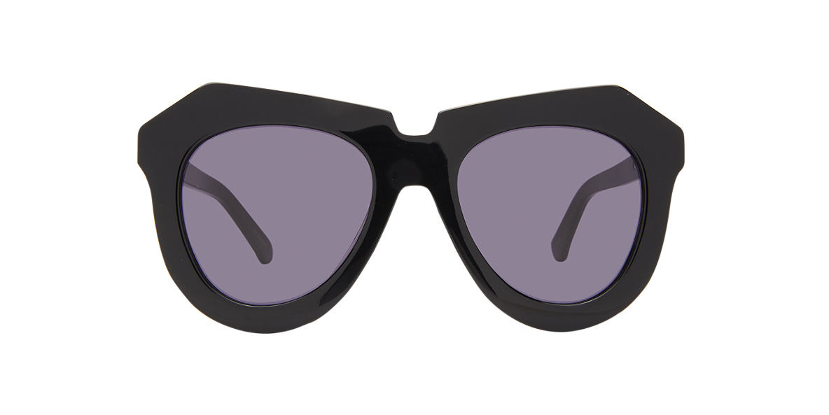 KAREN WALKER Black A ONE MEADOW Grey lenses 51mm