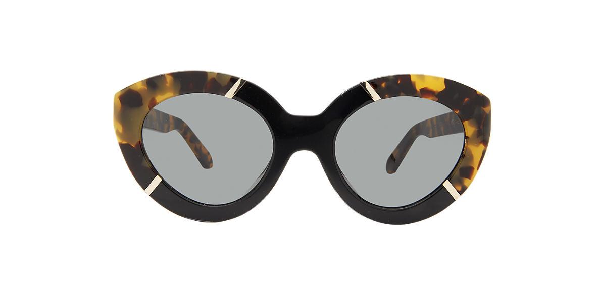 KAREN WALKER Tortoise A FLOWERPATCH Green lenses 50mm