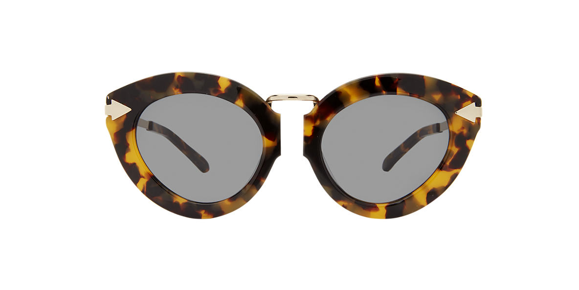 KAREN WALKER Tortoise LUNARFWRP Green lenses 50mm