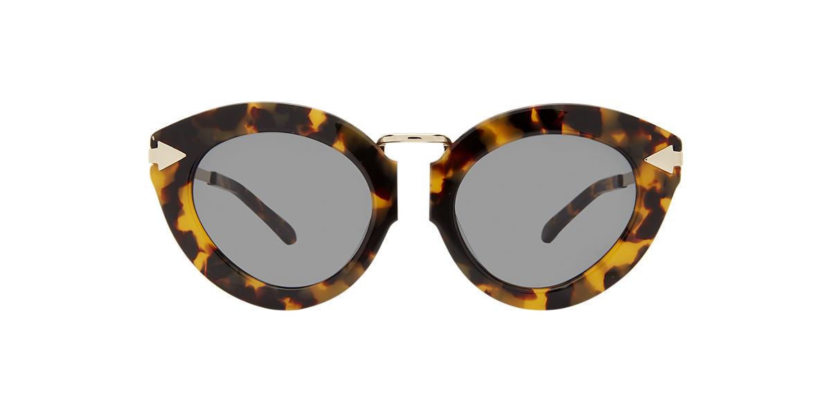 KAREN WALKER Tortoise LUNARFWRP Green lenses 50mm