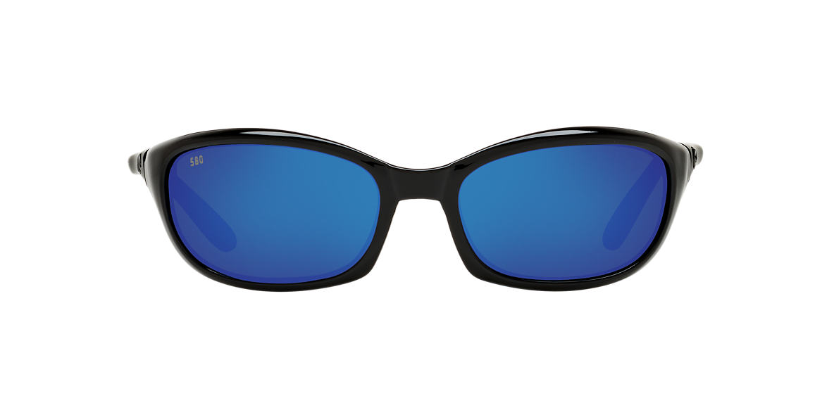 COSTA DEL MAR Black HARPOON Blue polarized lenses 62mm
