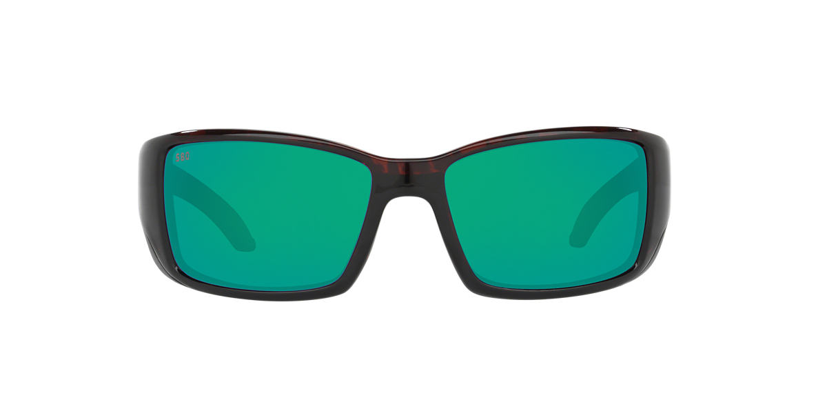 COSTA DEL MAR Brown BLACKFIN Green polarized lenses 64mm