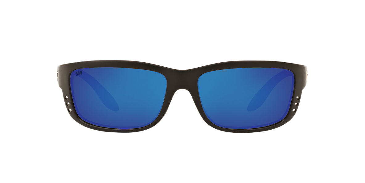 COSTA DEL MAR Black ZANE 61 Blue polarized lenses 61mm