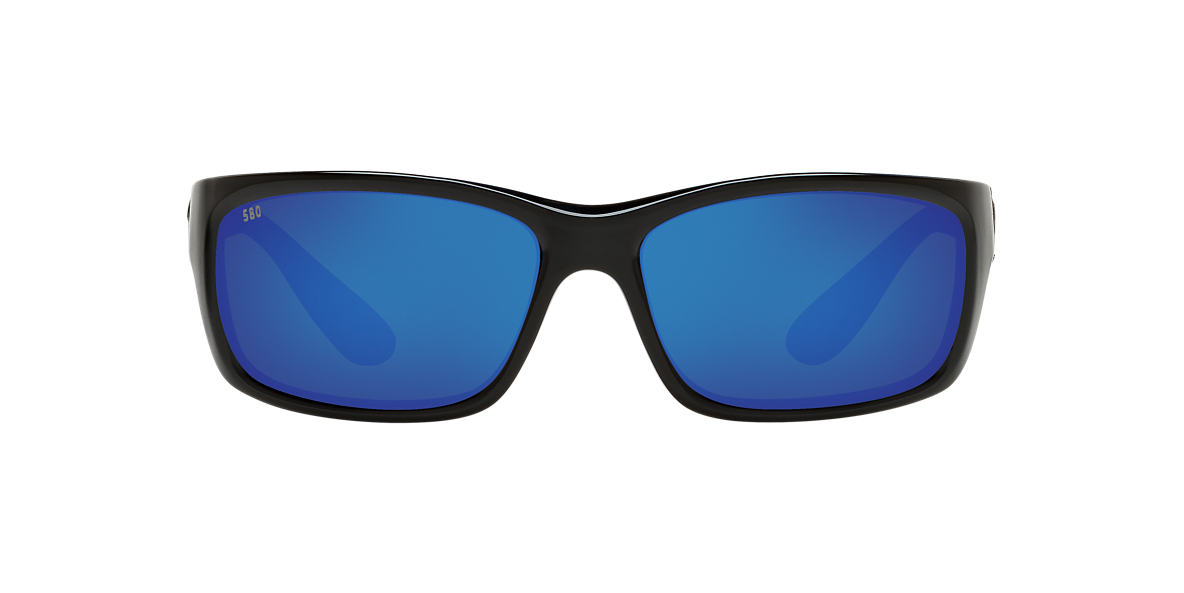 COSTA DEL MAR Black JOSE POLARIZED 62 Blue polarized lenses 62mm