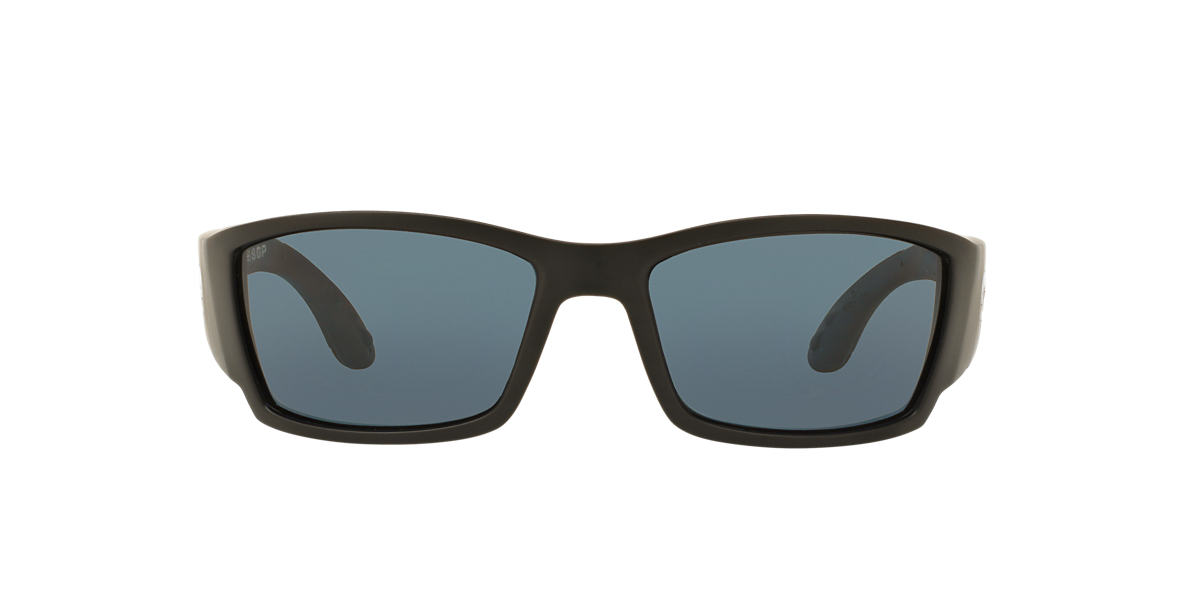 COSTA DEL MAR Black Matte CORBINA POLARIZED 62 Grey polarized lenses 62mm