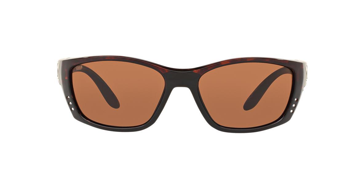 COSTA DEL MAR Tortoise FISCH 64  polarized lenses 64mm