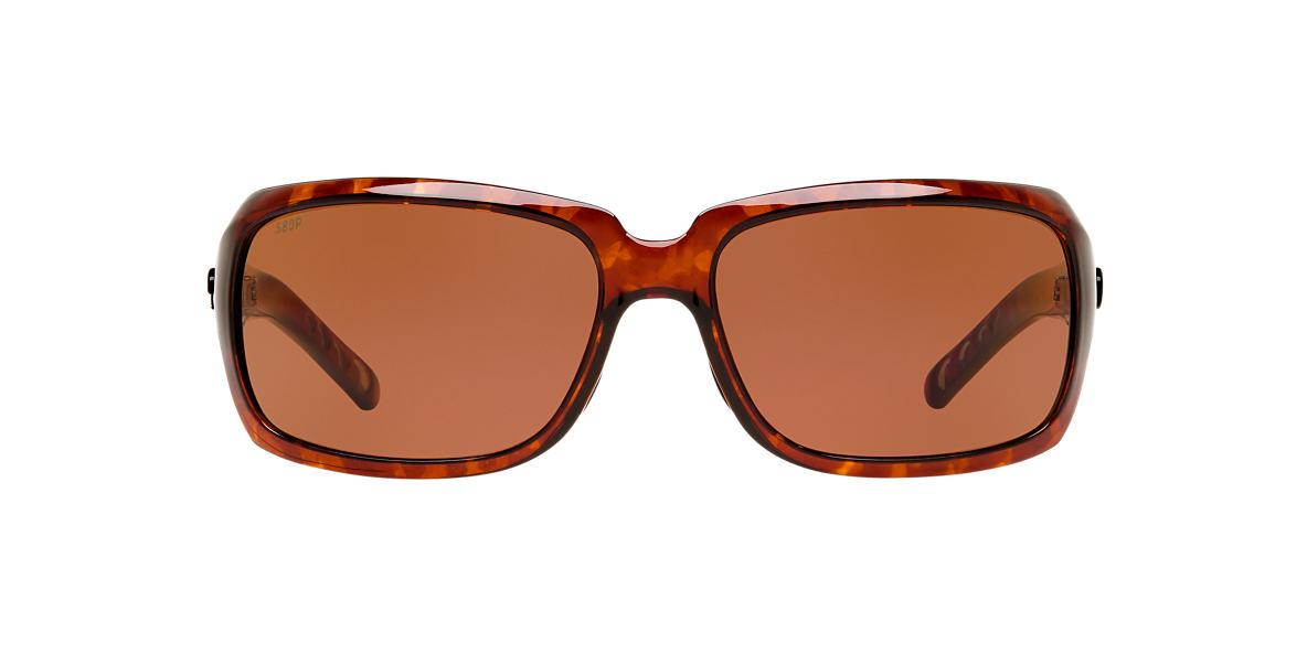 COSTA DEL MAR Tortoise ISABELA 06S000009 63 Brown polarized lenses 63mm