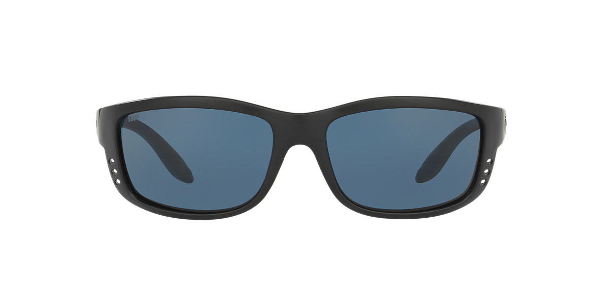 COSTA DEL MAR Black ZANE 61 Grey polarized lenses 61mm