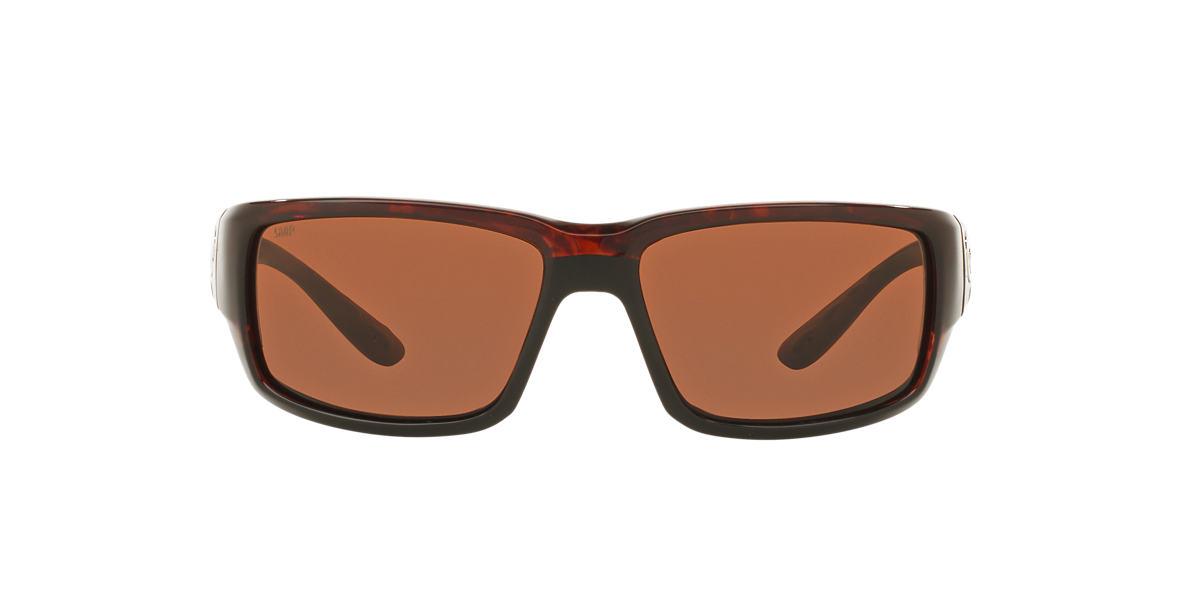 COSTA DEL MAR Tortoise FANTAIL 59  polarized lenses 59mm