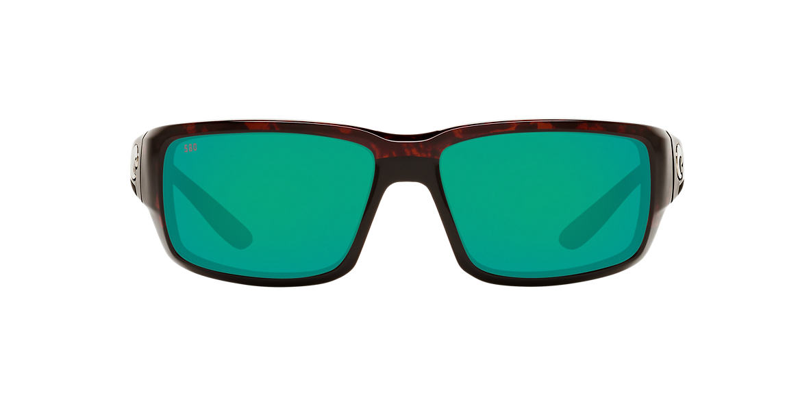 COSTA DEL MAR Tortoise FANTAIL POLARIZED 59 Green polarized lenses 59mm