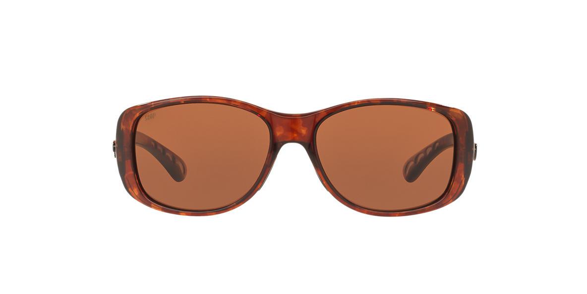 COSTA DEL MAR Tortoise CDM TIPPET 64 Brown polarized lenses 64mm
