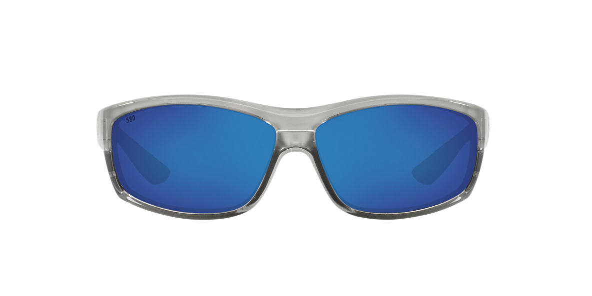 COSTA DEL MAR Silver SALTBREAK 65 Blue polarized lenses 65mm