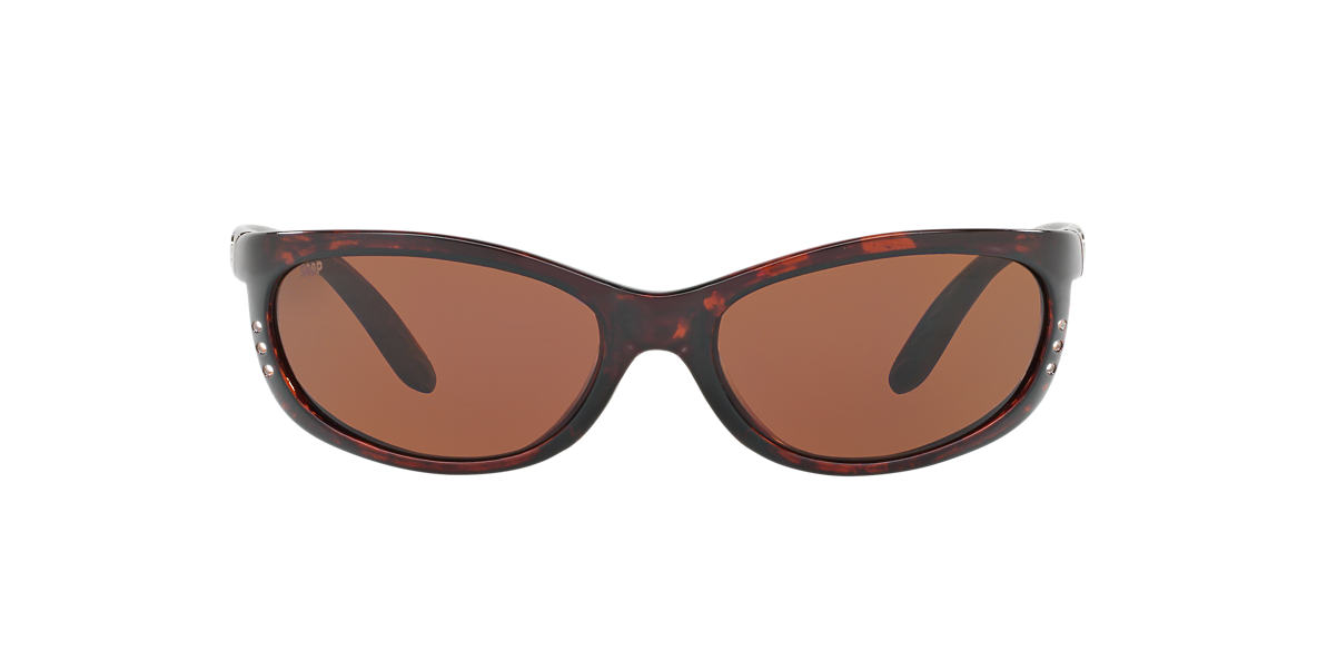 COSTA DEL MAR Tortoise FATHOM 06S000006 61  polarized lenses 61mm