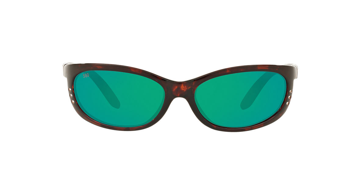 COSTA DEL MAR Tortoise FATHOM Green polarized lenses 61mm