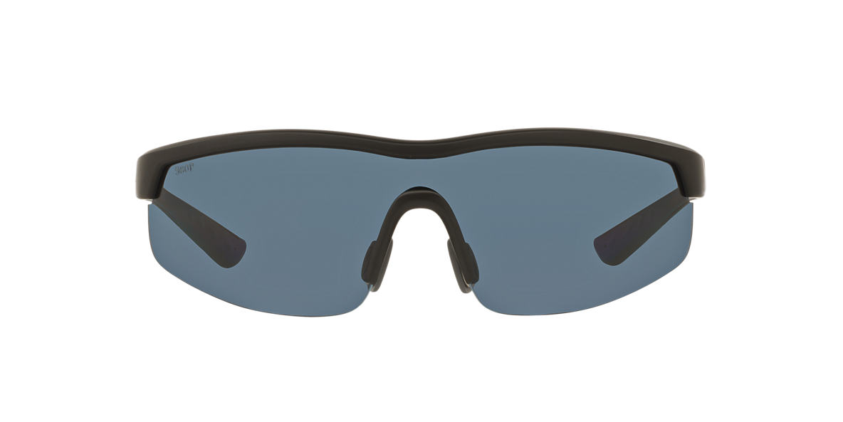 COSTA DEL MAR Black STRAITS 60 Grey polarized lenses 60mm