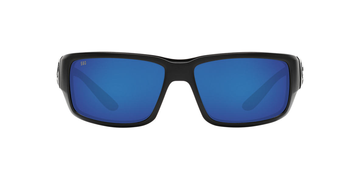 COSTA DEL MAR Black FANTAIL 59 Blue polarized lenses 59mm