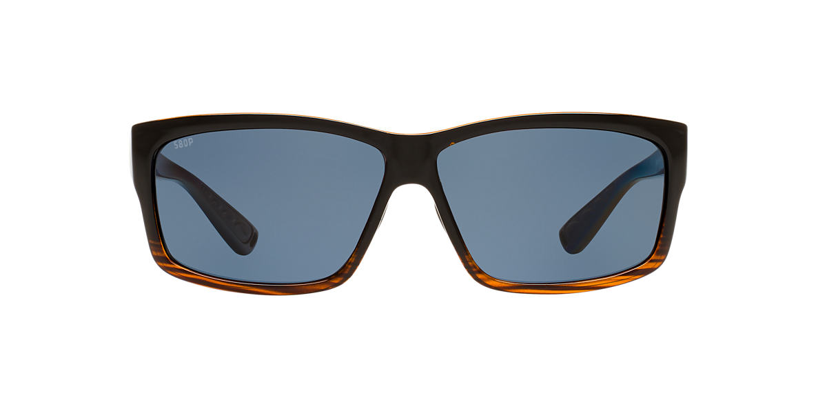 COSTA DEL MAR Brown CUT POLARIZED 60 Gold polarized lenses 60mm