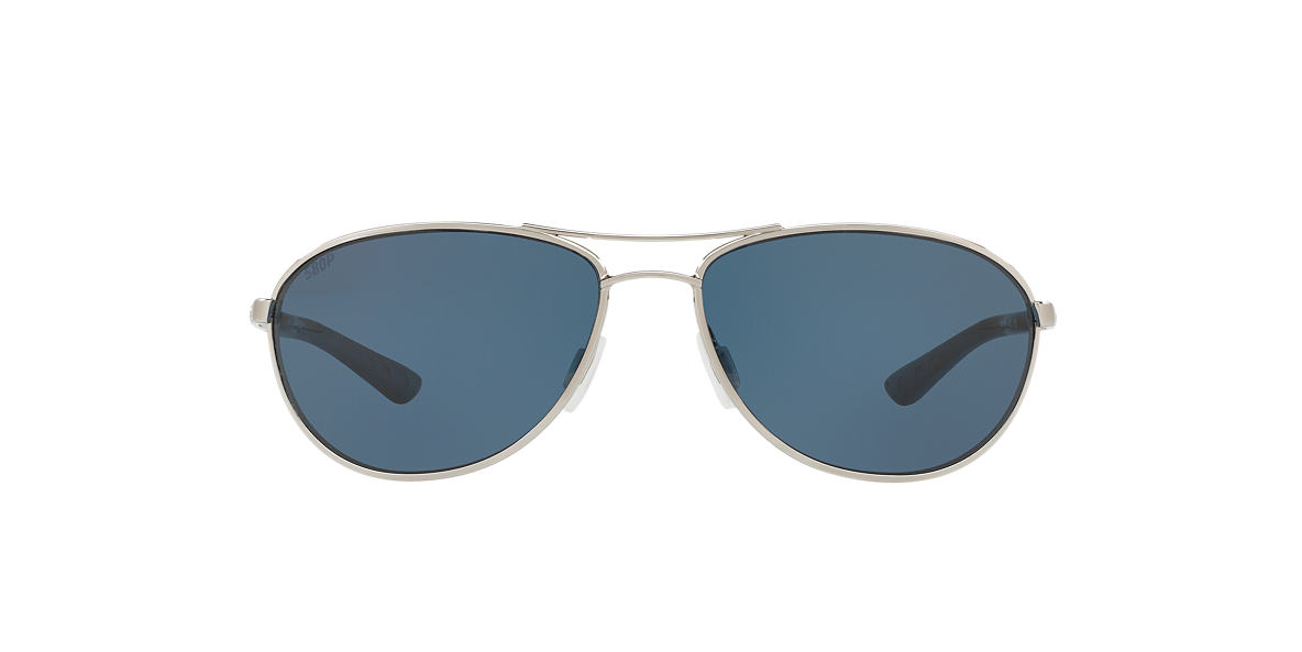 COSTA DEL MAR Silver KC POLARIZED 57 Grey polarized lenses 57mm