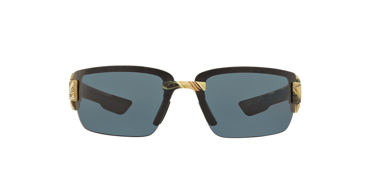 COSTA DEL MAR Brown ROCKPORT 69 Grey polarized lenses 69mm