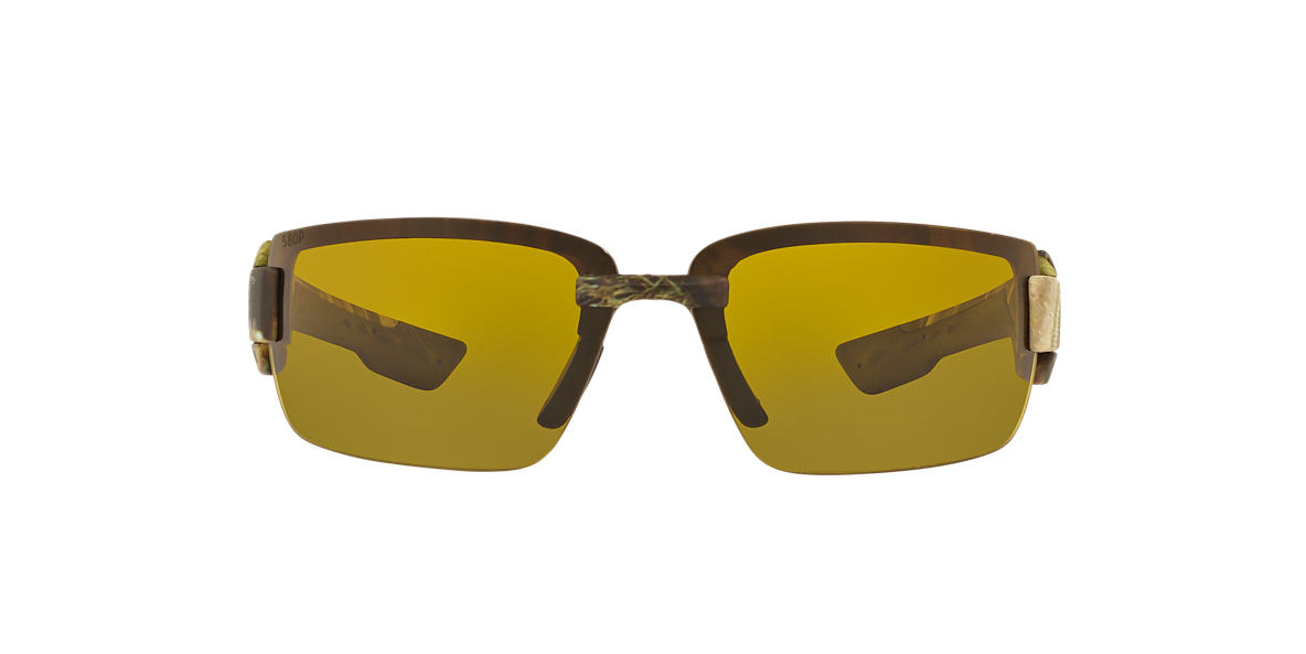 COSTA DEL MAR Brown ROCKPORT 69 Yellow polarized lenses 69mm