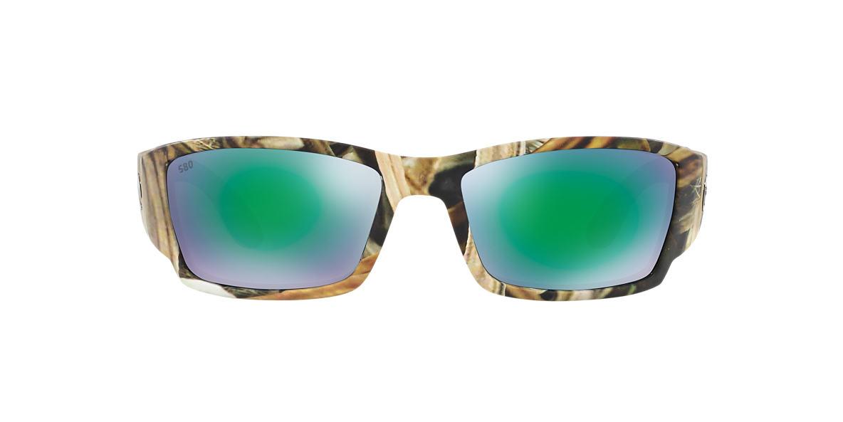 COSTA DEL MAR Brown CORBINA 61 Green polarized lenses 61mm