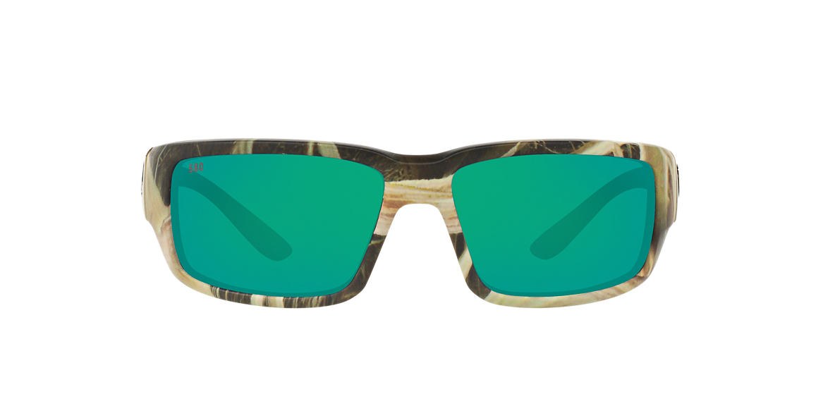 COSTA DEL MAR Brown FANTAIL 59 Green polarized lenses 59mm