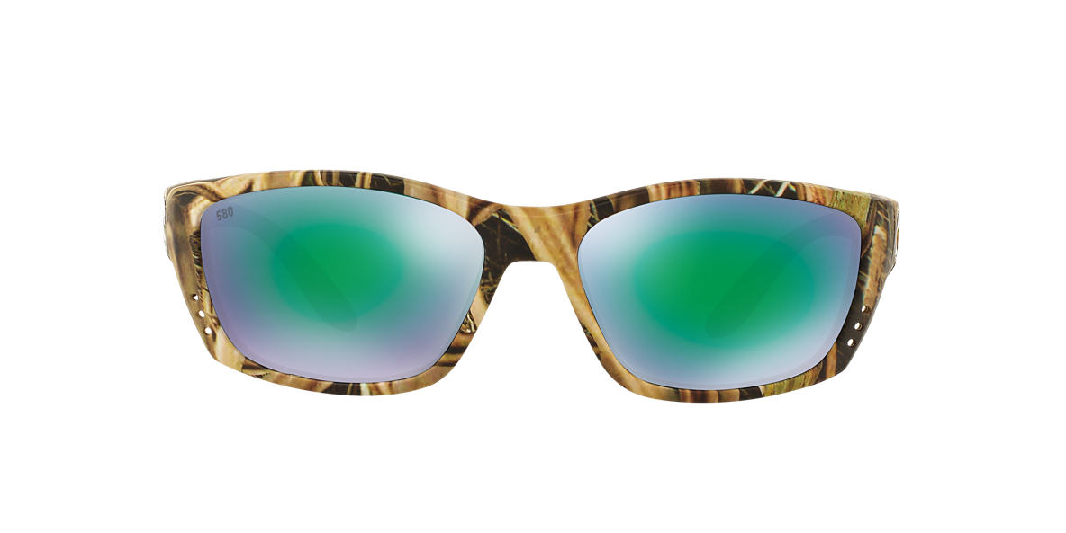 COSTA DEL MAR Brown FISCH 64 Green polarized lenses 64mm