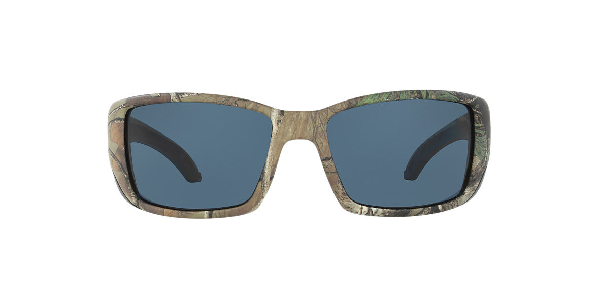 COSTA DEL MAR Brown BLACKFIN 64 Grey polarized lenses 64mm