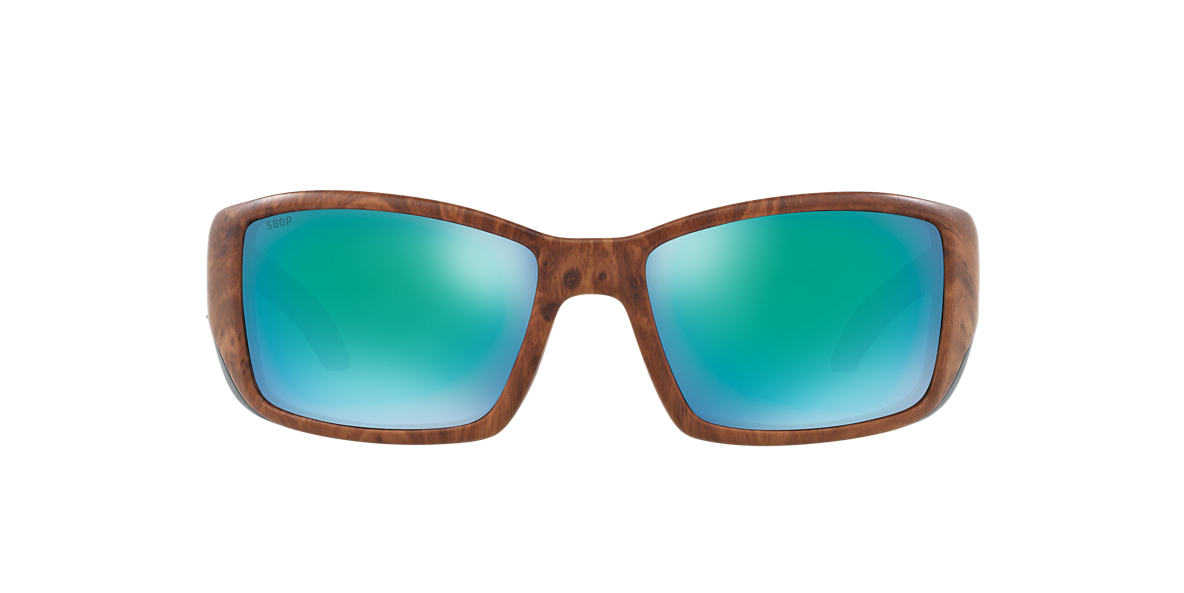 COSTA DEL MAR Brown BLACKFIN 06S000003 62 Blue polarized lenses 62mm