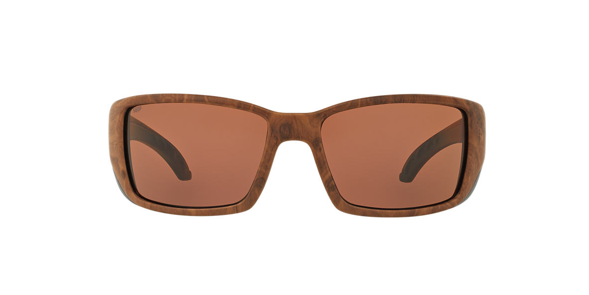 COSTA DEL MAR Brown BLACKFIN 06S000003 62  polarized lenses 62mm
