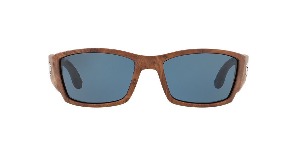 COSTA DEL MAR Brown CORBINA 61 Grey polarized lenses 61mm