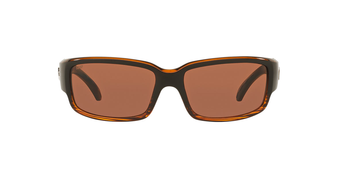 COSTA DEL MAR Brown CDM CABALLITO 06S000169 59  polarized lenses 59mm