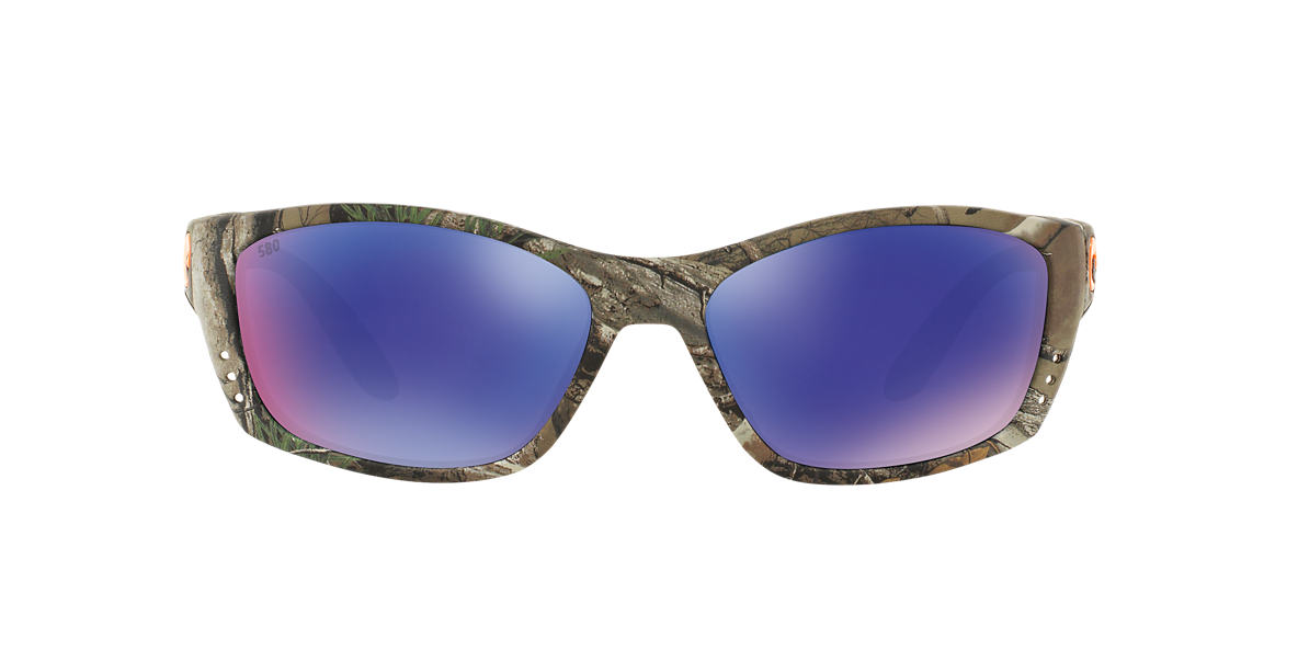 COSTA DEL MAR Brown FISCH 64 Blue polarized lenses 64mm