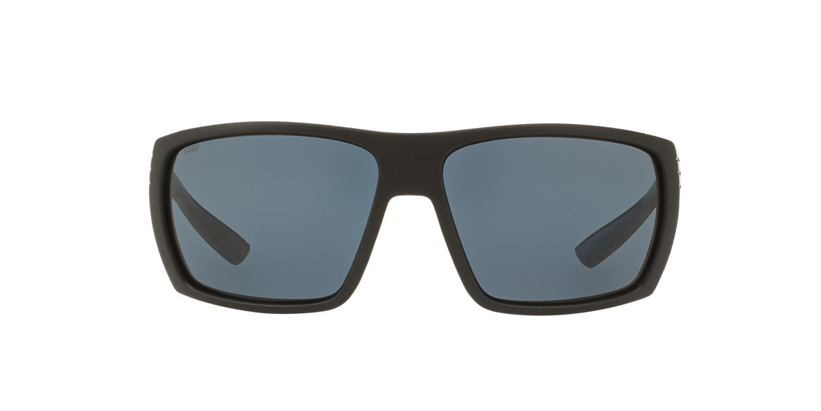 COSTA DEL MAR Black Matte HAMLIN POLARIZED 62 Grey polarized lenses 62mm