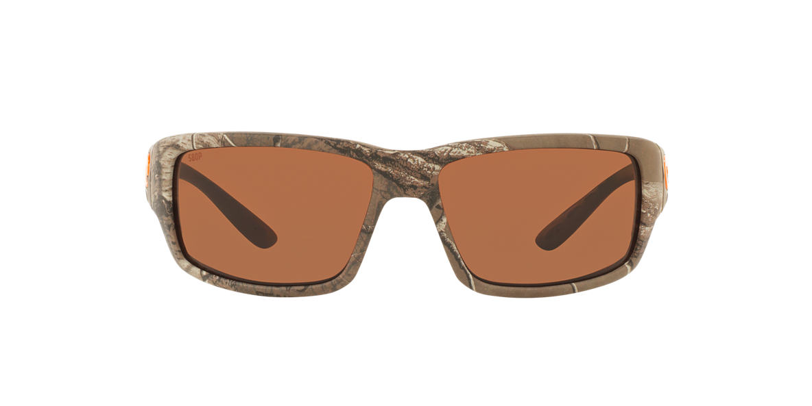 COSTA DEL MAR Brown FANTAIL 59  polarized lenses 59mm