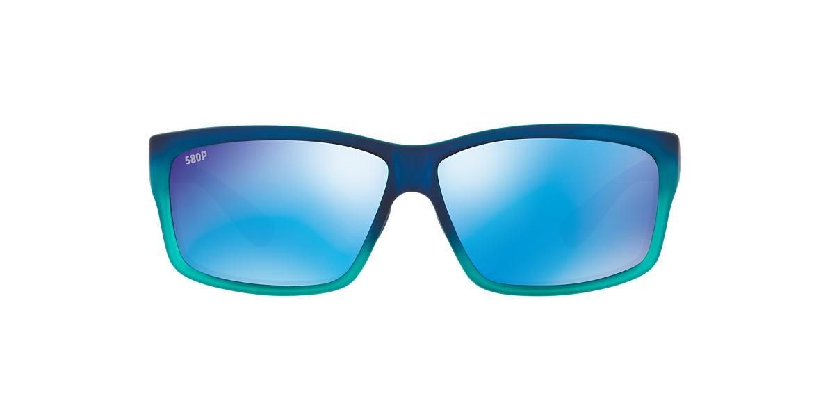 COSTA DEL MAR Blue CUT POLARIZED 62 Blue polarized lenses 62mm