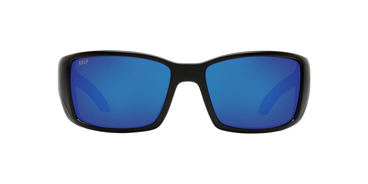 COSTA DEL MAR Black BLACKFIN 06S000003 62 Blue polarized lenses 62mm