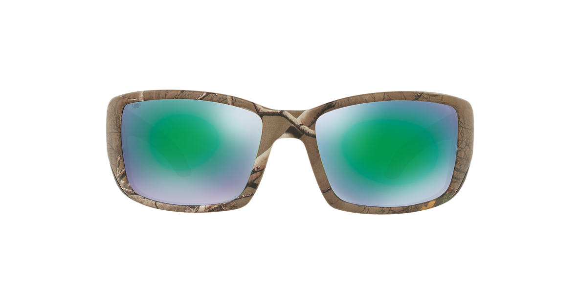 COSTA DEL MAR Brown BLACKFIN 06S000003 62 Green polarized lenses 62mm