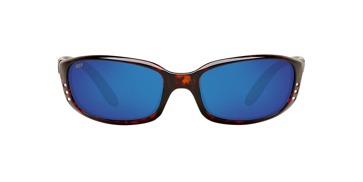 COSTA DEL MAR Tortoise BRINE 06S000004 59 Blue polarized lenses 59mm