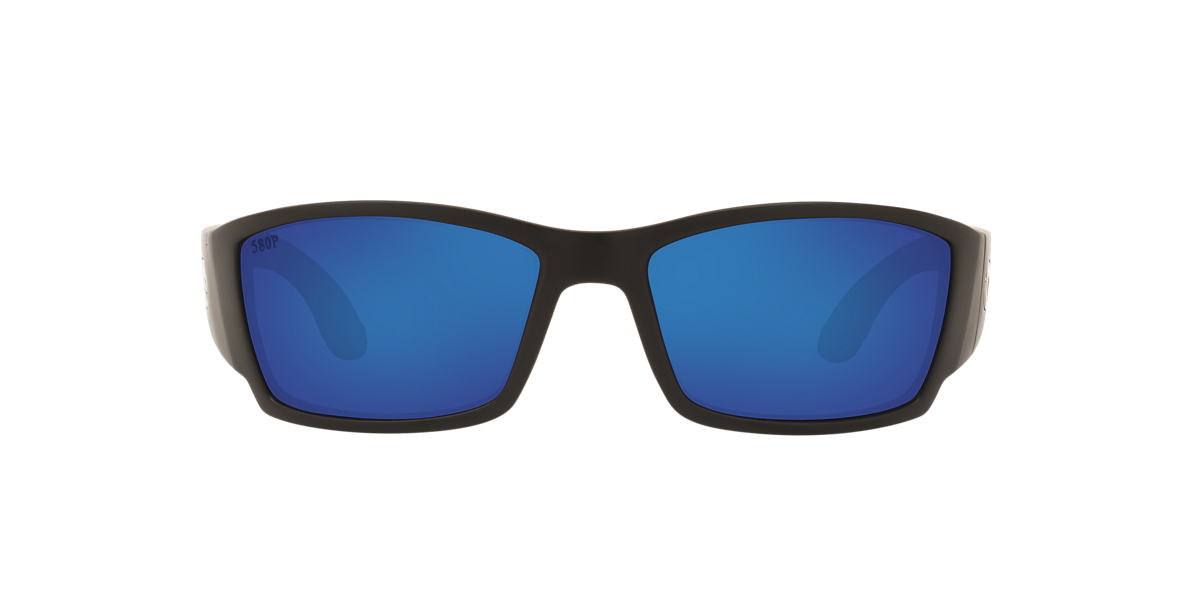 COSTA DEL MAR Black CORBINA 61 Blue polarized lenses 61mm