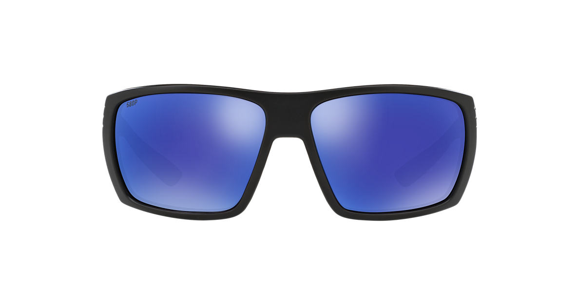 COSTA DEL MAR Black HAMLIN 62 Blue polarized lenses 62mm