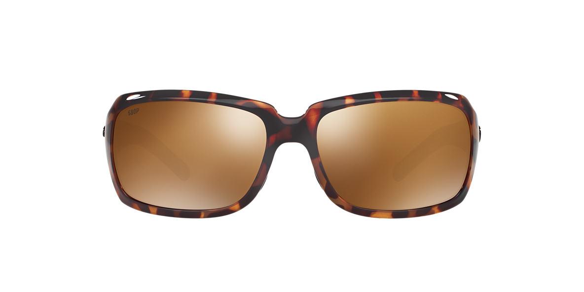 COSTA DEL MAR Tortoise ISABELA 06S000009 63 Bronze polarized lenses 63mm