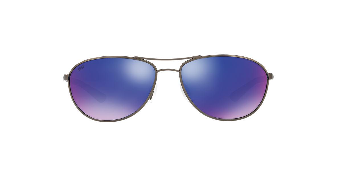 COSTA DEL MAR Gunmetal CDM KC 06S000174 57 Blue polarized lenses 57mm
