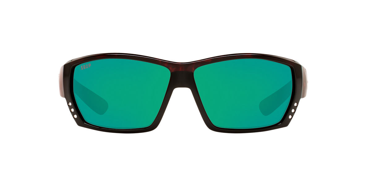 COSTA DEL MAR Tortoise CDM TUNA ALLEY 62 Grey polarized lenses 62mm