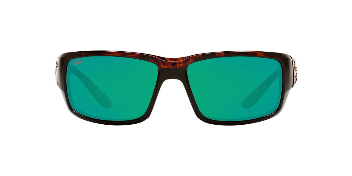 COSTA DEL MAR Tortoise FANTAIL 59 Green polarized lenses 59mm